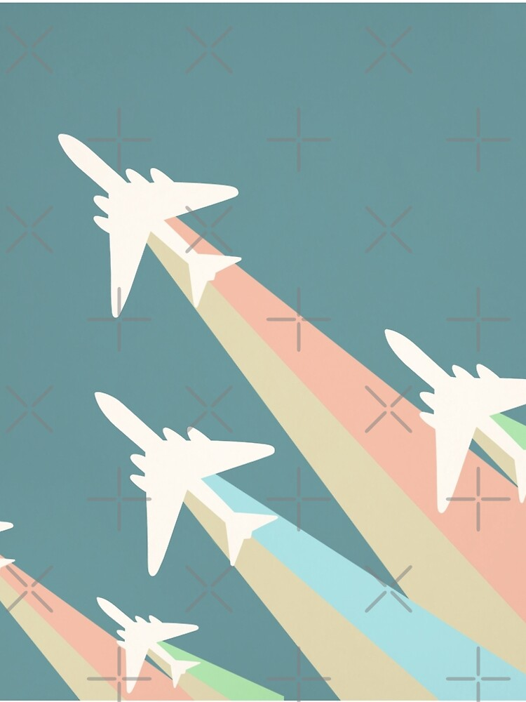 Airplanes Illustration by cristinadesign