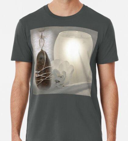 River Pebble Pendant Premium T-Shirt
