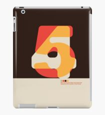 Modernist FortyFive iPad Case/Skin