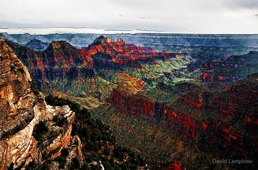 A Grand View by David Lampkins
