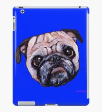 Butch the Pug - Blue iPad Case/Skin