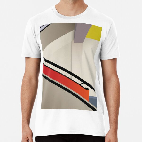 Funky Little Staircase Premium T-Shirt
