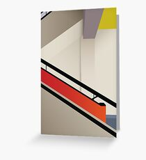 Funky Little Staircase Greeting Card