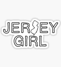 Jersey Girl Sticker