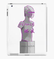Agender Sculpture iPad Case/Skin