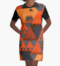 Indian Summer Graphic T-Shirt Dress