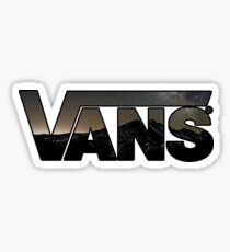 Vans (Mountains) Sticker