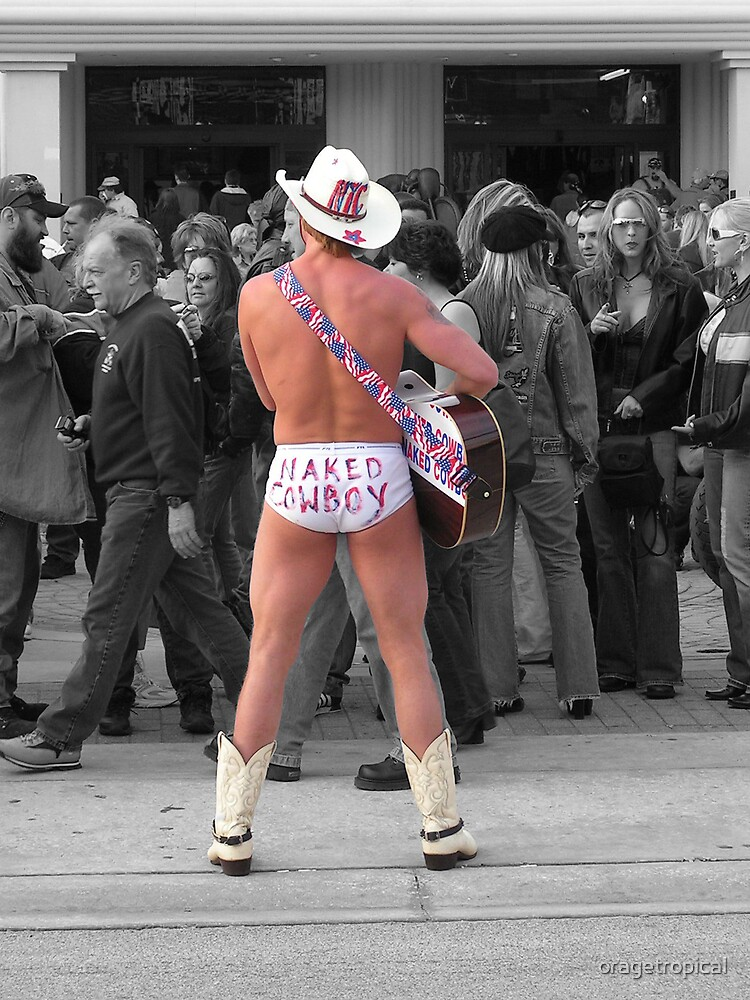 Naked Cowboy by oragetropical