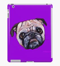 Butch the Pug - Purple iPad Case/Skin