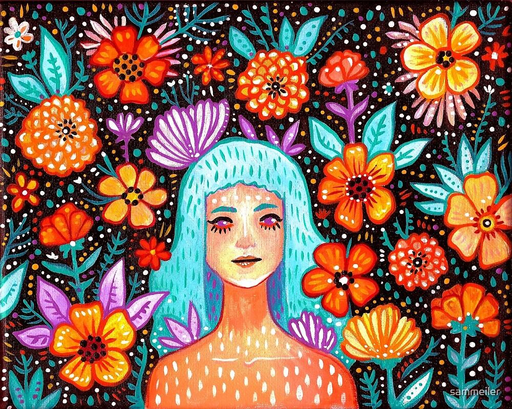 Garden Girl by sammeiler