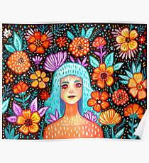 Garden Girl Poster