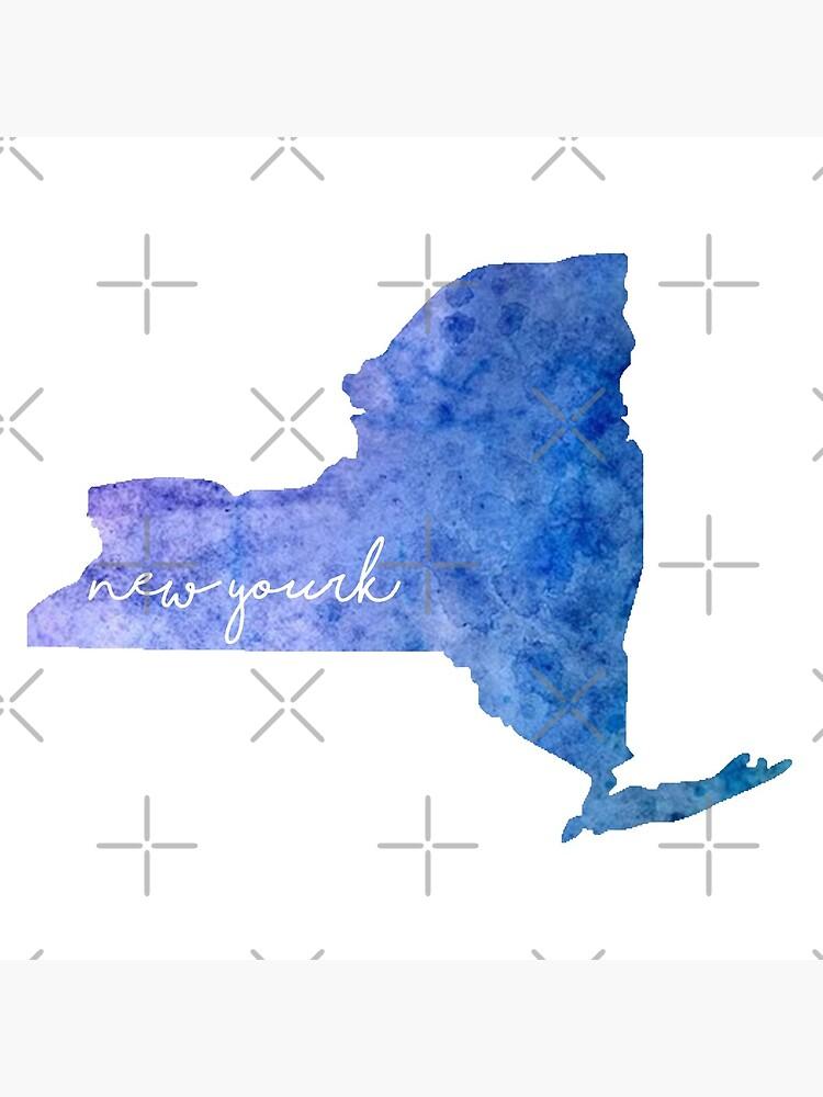 New York Aquarell von jamiemaher15
