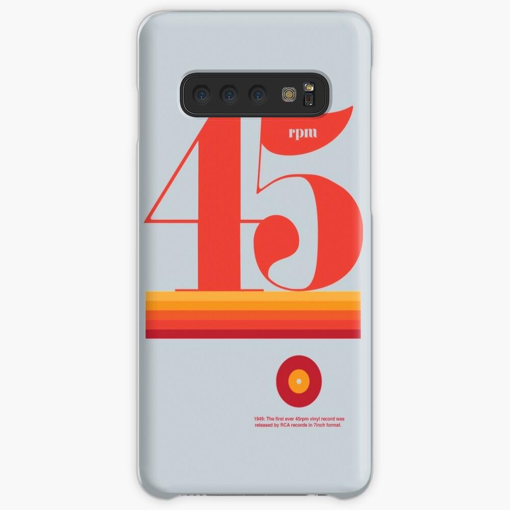 45rpm Case & Skin for Samsung Galaxy