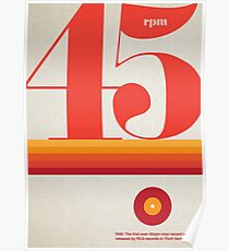 45rpm Poster