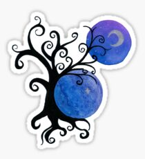 Colors of the night Sticker
