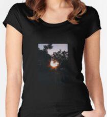 Golden Hour Women's Fitted Scoop T-Shirt