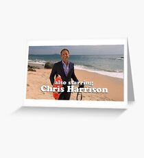 Chris Harrison Greeting Card