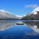 Rotoiti Reflections by Faith Barker Photography