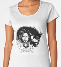 Sirius Black: Padfoot Women's Premium T-Shirt