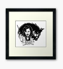 Sirius Black: Padfoot Framed Print