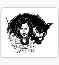 Sirius Black: Padfoot Sticker