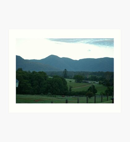 Early Morning - Bellingen Art Print
