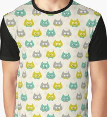 Cat Pattern 2 Graphic T-Shirt