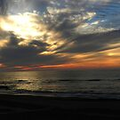 Skagen Sunset, North Sea Coast. Denmark by hans p olsen