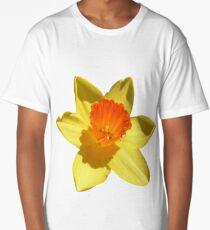 Daffodil Emblem Isolated Long T-Shirt