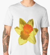 Daffodil Emblem Isolated Men's Premium T-Shirt