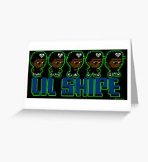Lil Shipe - Retro Gaming Greeting Card