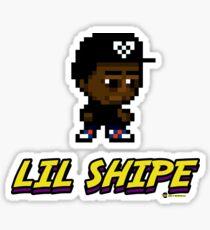 Lil Shipe - 8-Bit Pixels Sticker