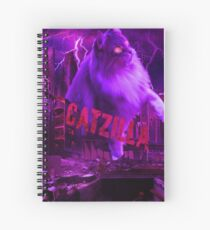 Catzilla Spiral Notebook