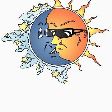 Sun n Moon by danielpowell