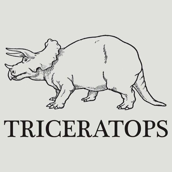 TShirtGifter presents: Triceratops