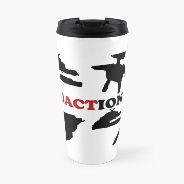 #Redactionart Travel Mug
