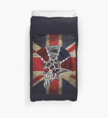 Union Jack Punk Skull Duvet Cover