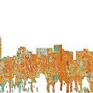 Arlington, Texas Skyline - Rost von Marlene Watson