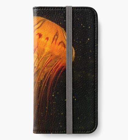 Unterwasserwelt der Sterne iPhone Flip-Case