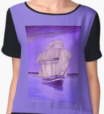 Fantasy Shade Women's Chiffon Top