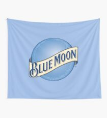 Blue Moon Beer Wall Tapestry