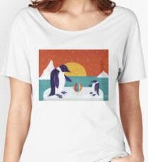 Happy Penguins Women's Relaxed Fit T-Shirt
