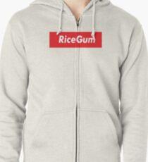 Sudadera con capucha y cremallera RiceGum Supreme Logo