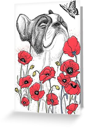 Pug in flowers von NIKITA KORENKOV NikKor