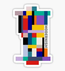 MODERNISM TWO Sticker