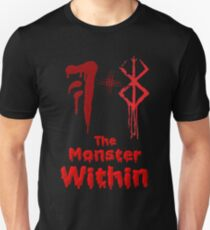 Two Curse Marks combined will evoke The Monster Within T-Shirt