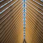 Cardboard Cathedral Ceiling by Michael McGimpsey