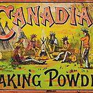Canadian Baking Powder Vintage Advertising by Michael  Bermingham