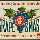 Grape Smash Vintage Advertising by Michael  Bermingham