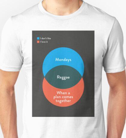 I don't like Reggae, I love it T-Shirt